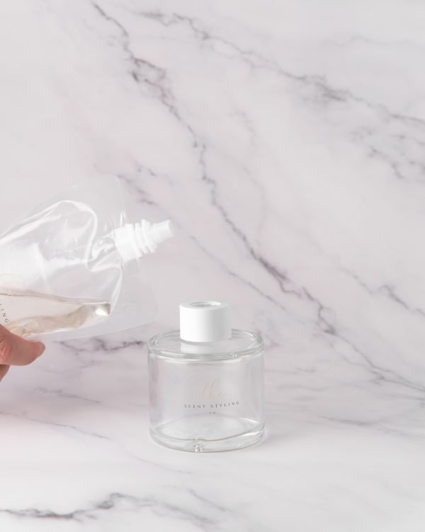 diffuser glass bottle