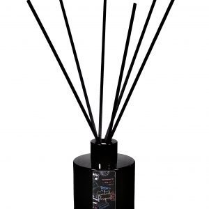 scented passport black glass reed diffuser
