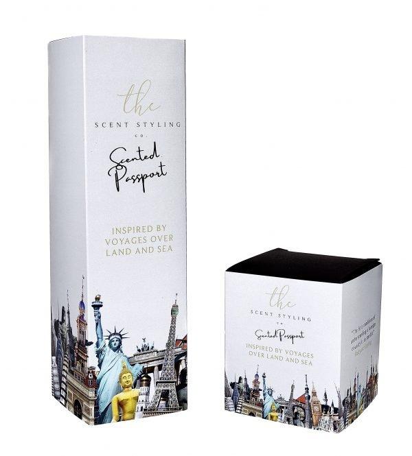 scented passport box