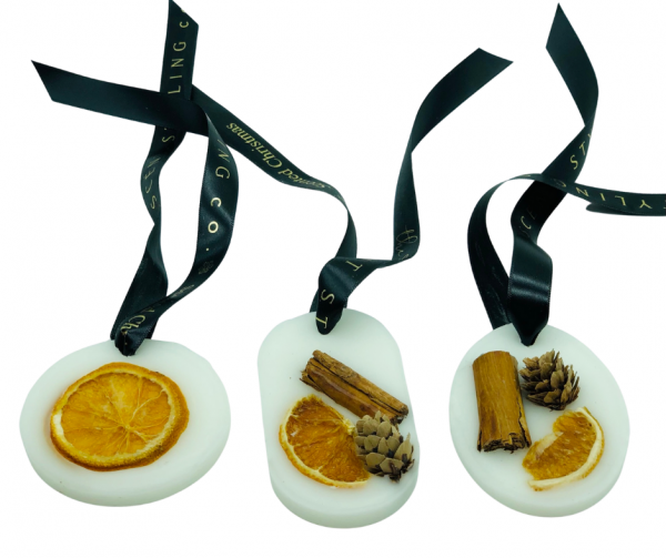 scented wax ornaments